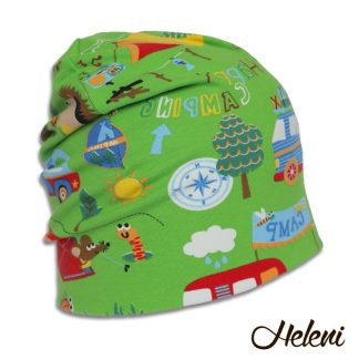 Roheline matkasellide müts