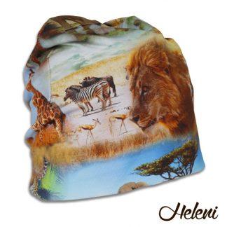 Aafrika loomadega müts