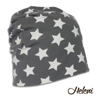 Tumehall tähtedega müts