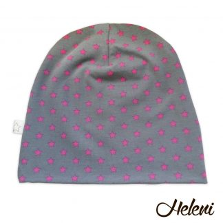 Roosade tähekestega müts
