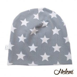 Helehall tähtedega müts