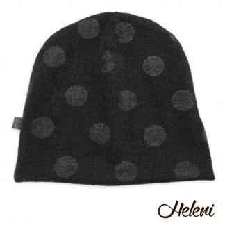 Must mummudega müts