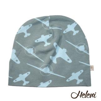 Meriinovoodriga müts lennukitega