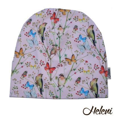 Lindude ja liblikatega müts