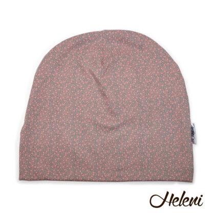 Halli-roosakirju müts meriinovoodriga