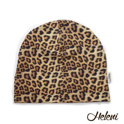 Leopardimustriline müts