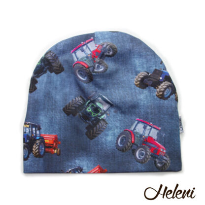 Tume traktoritega müts